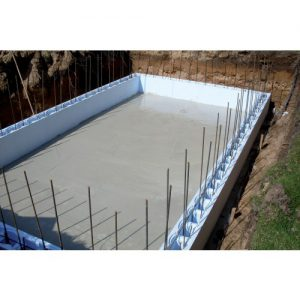 bouwblok zwembad