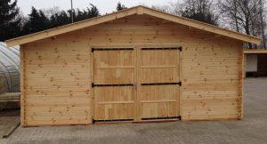 garage's breedte 350 cm